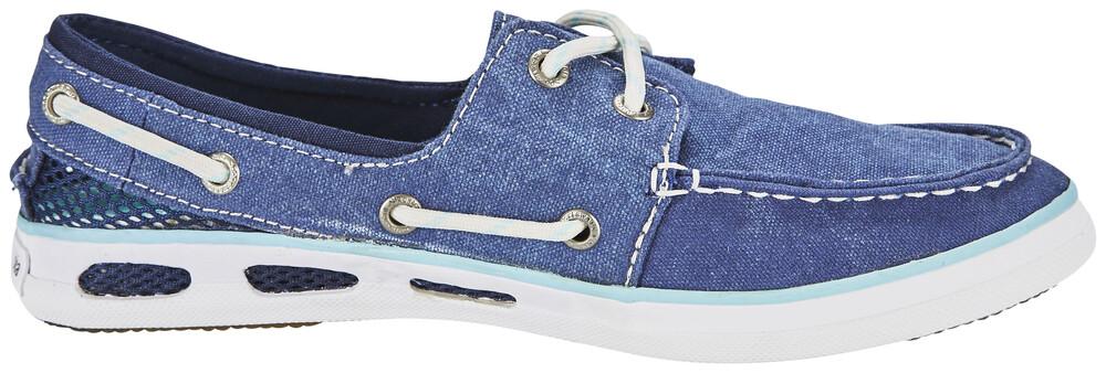 Columbia Vulc N Vent Boat Canvas Shoes Women Collegiate Navy, Candy Mint 36 2016 Freizeitschuhe